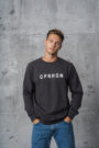 CPH Sweat 2M org. cotton lava grey