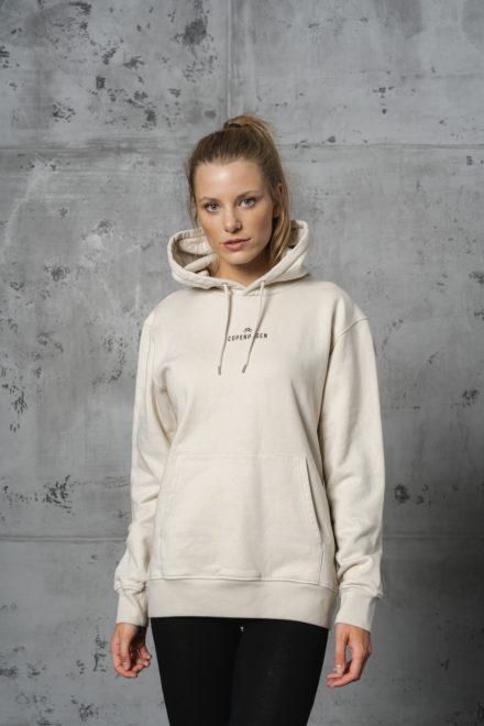 CPH Hoodie 1 org. cotton ivory white - alternative