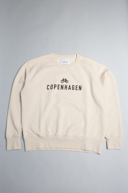 CPH Sweat 3 org. cotton ivory white