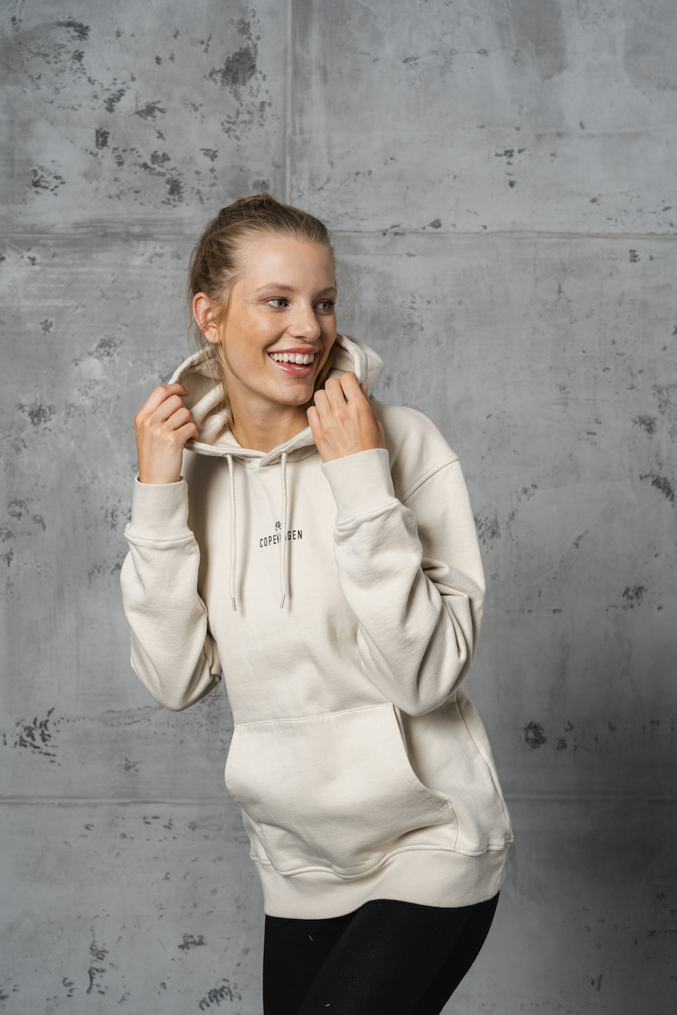 CPH Hoodie 1 org. cotton ivory white - alternative 3