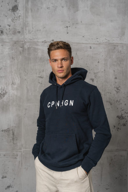 CPH Hoodie 2M org. cotton navy blue - alternative