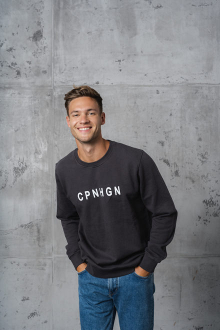 CPH Sweat 2M org. cotton lava grey - alternative