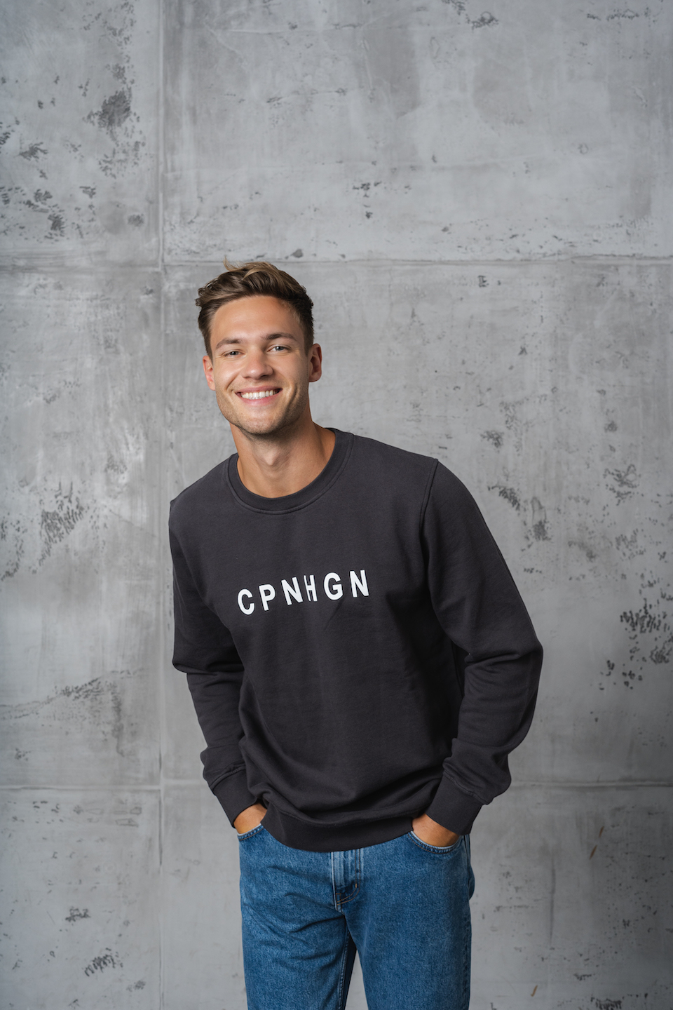 CPH Sweat 2M org. cotton lava grey - alternative 1