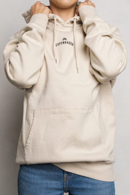 CPH Hoodie 1 org. cotton ivory white