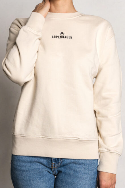 CPH Sweat 1 org. cotton ivory white