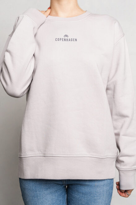 CPH Sweat 1 org. cotton limestone grey