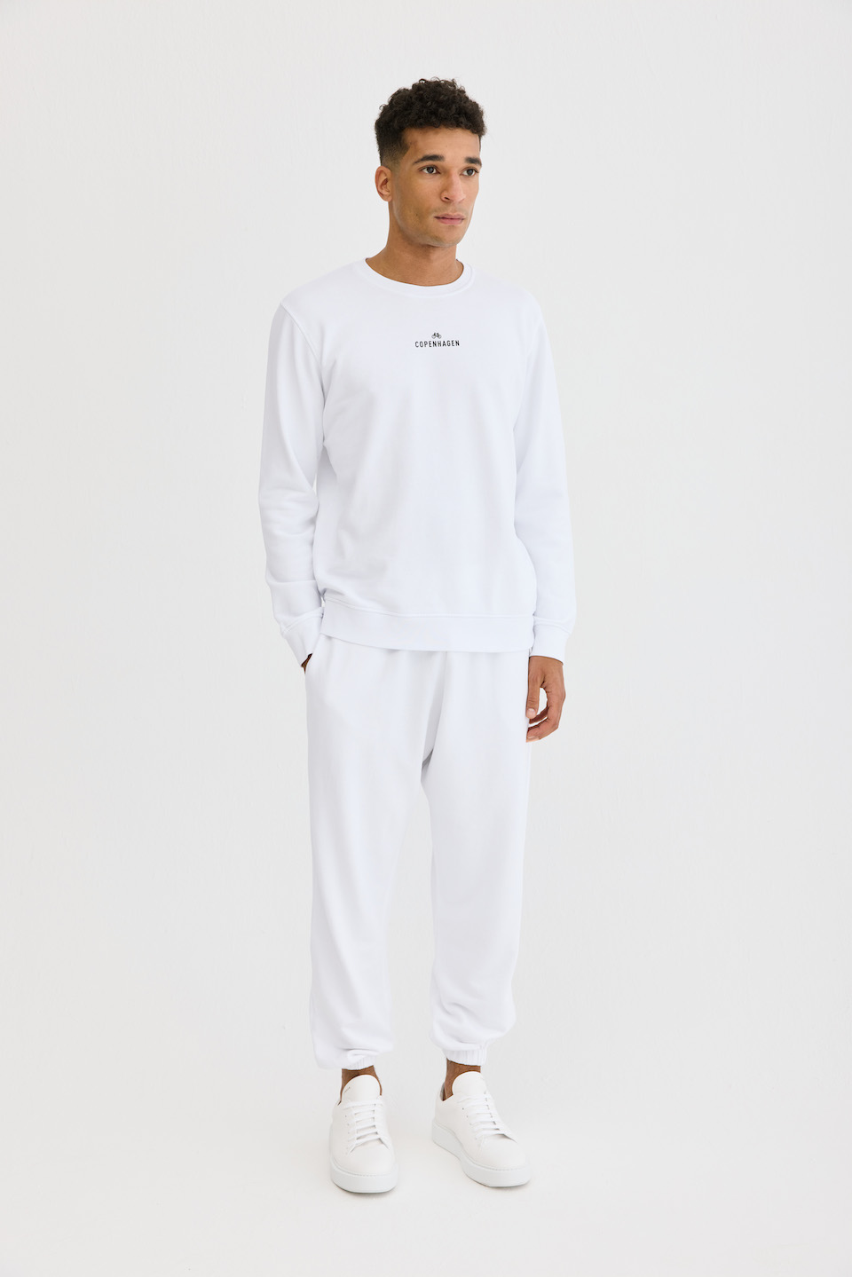 CPH Sweat 1M org. cotton white - alternative 1