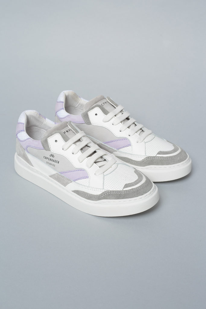 CPH560 material mix white/lavender