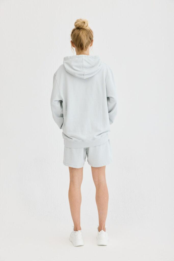 CPH Hoodie 5 org. cotton light grey - alternative 1