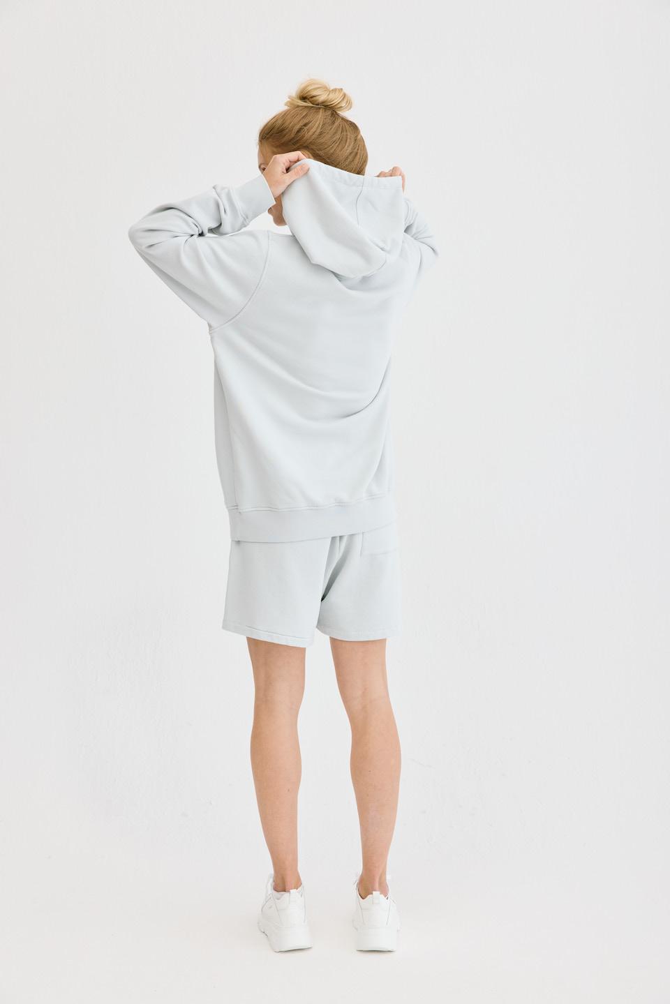 CPH Hoodie 5 org. cotton light grey - alternative 2