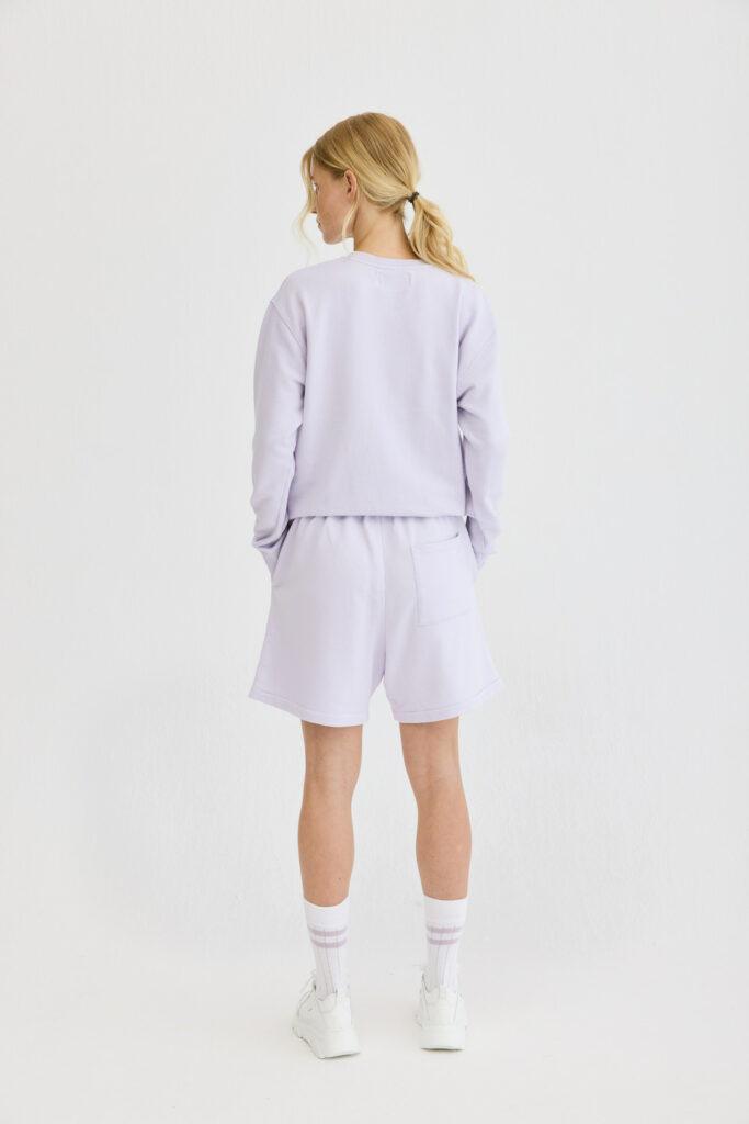 CPH Shorts 1 org. cotton lavender - alternative 1