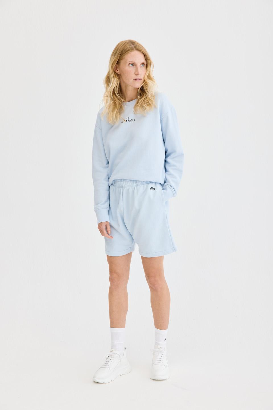 CPH Shorts 1 org. cotton light blue