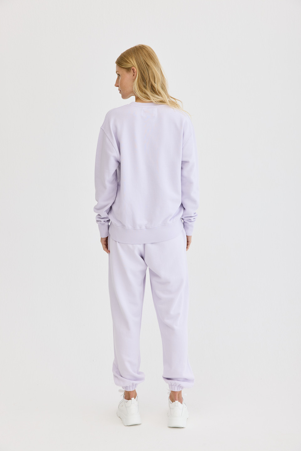 CPH Sweat 4 org. cotton lavender - alternative 1