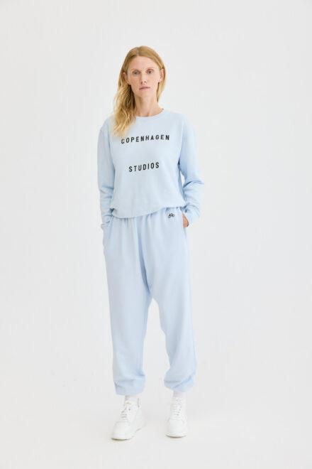 CPH Sweatpants 1 org. cotton light blue