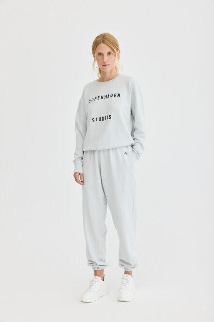 CPH Sweatpants 1 org. cotton light grey