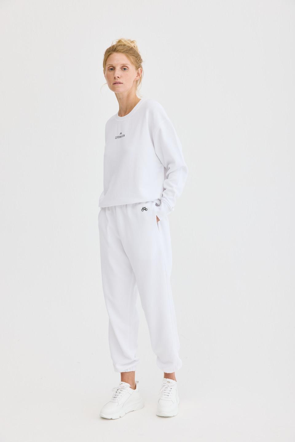 CPH Sweatpants 1 org. cotton white - alternative 1