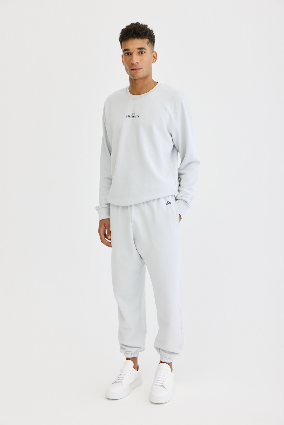 CPH Sweatpants 1M org. cotton light grey