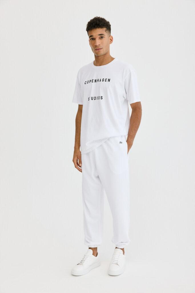CPH Sweatpants 1M org. cotton white