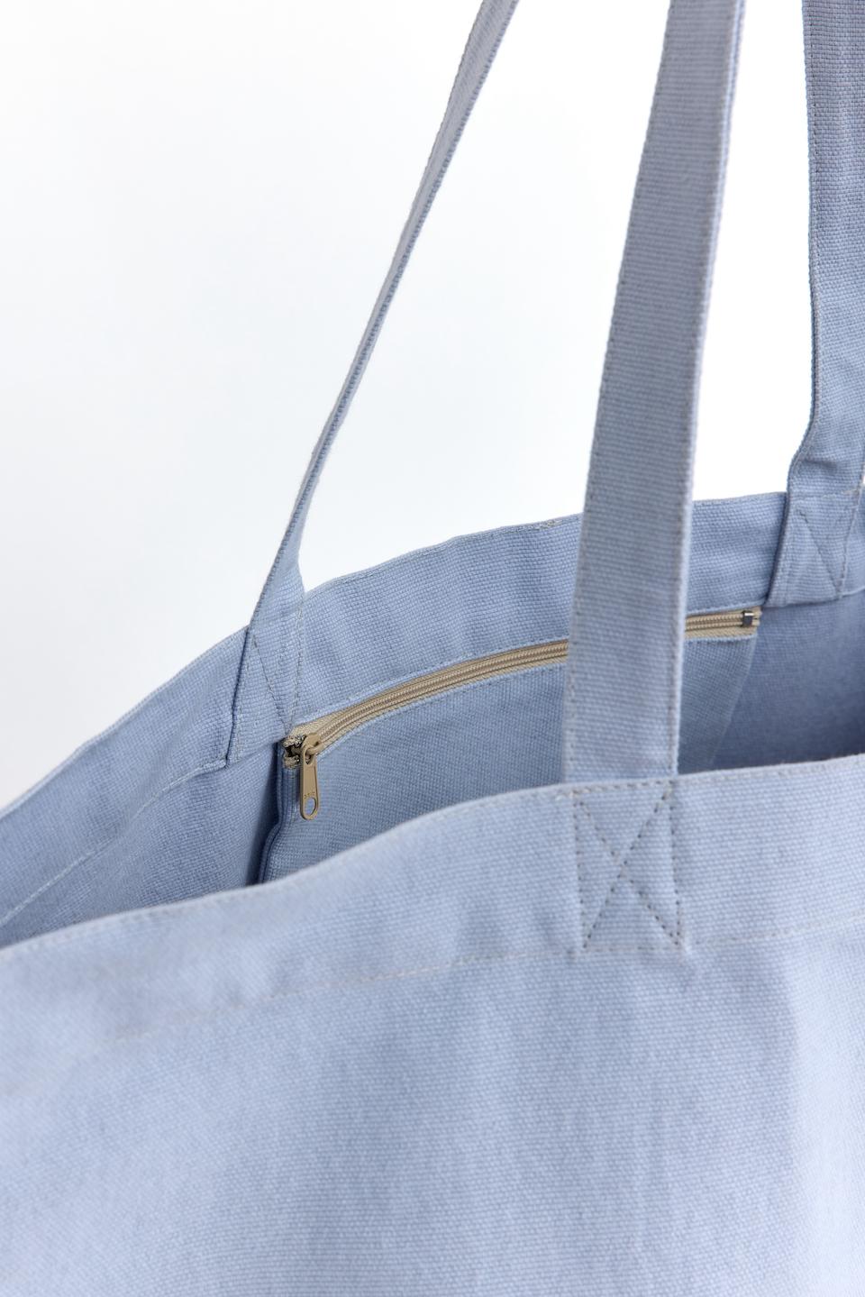 CPH BAG 015 recycle canvas blueberry - alternative 3