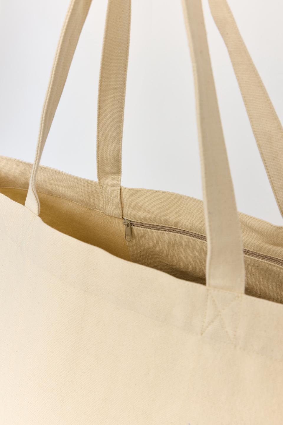CPH BAG 015 recycle canvas butter - alternative 3